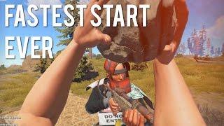 Rust - FASTEST START EVER
