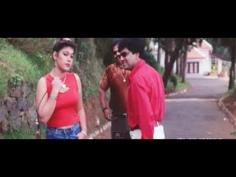 Manusuna Manasai Comedy Scenes - Vivek trying to be macho in front of a girl