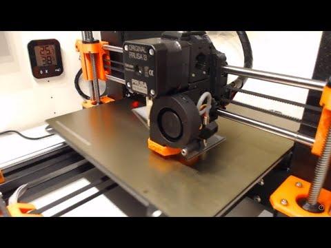 3D Printer - Prusa Mk3 printing Bosch 12V Mount Part 1 - 3D Gents