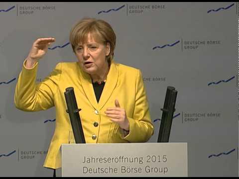 Gruppe Deutsche Börse - Jahreseröffnung 2015 - Rede Dr. Angela Merkel