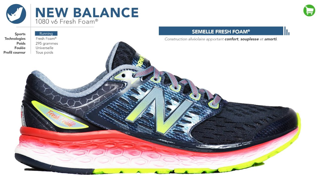 new balance running homme 1080
