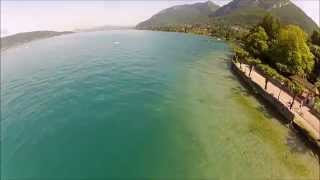 Session Hydravion  - Seaplane - Lac d'Annecy - TBS Discovery - Gopro2 - Drone - Quadcopter - Dronies