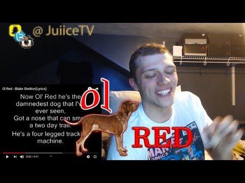Blake Shelton - Ol' Red (Lyrics) Reaction | JuiiceTV