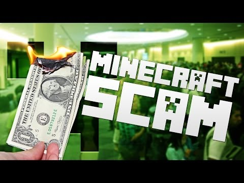 Minecraft SCAM - Convention: Breaking It Down & How-To Prevent