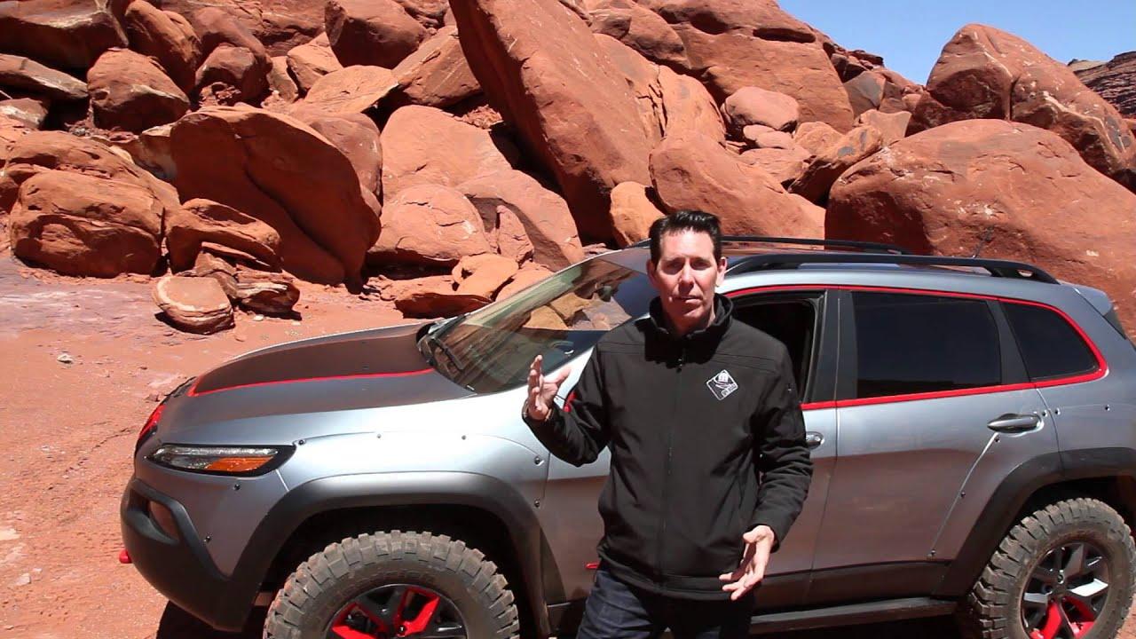 Jeep Cherokee Trail Hawk 2014 Jeep Cherokee Dakar Concept - YouTube