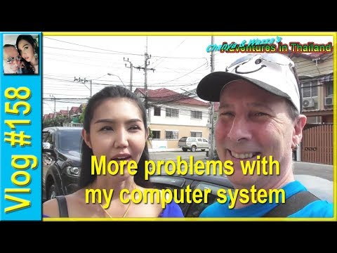 Vlog 158 - More problems with my computer system