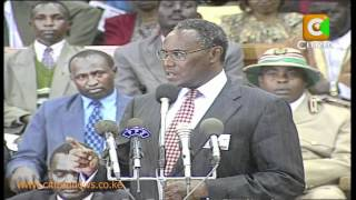 Kibaki Succession: Tribute To Saitoti