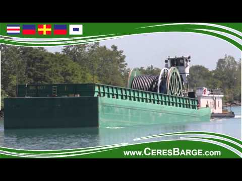 Ceres Barge Project Cargo - Big Reel