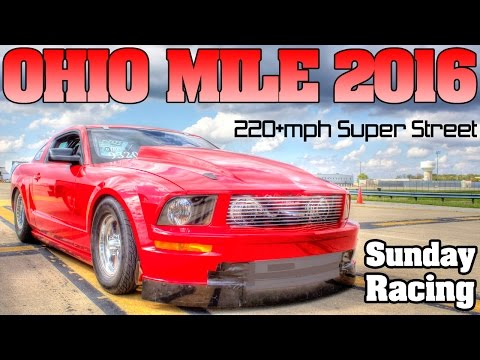 Ohio Mile 2016 ECTA Top Speed Challenge, full event Movie