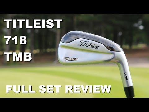 Titleist 718 TMB Full Iron Set Review