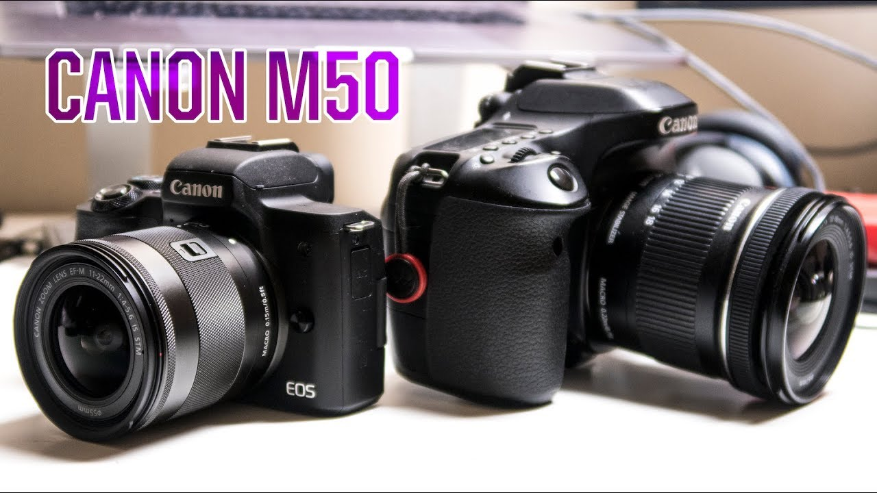 is the canon m50 the 80d killer for vloggers youtube