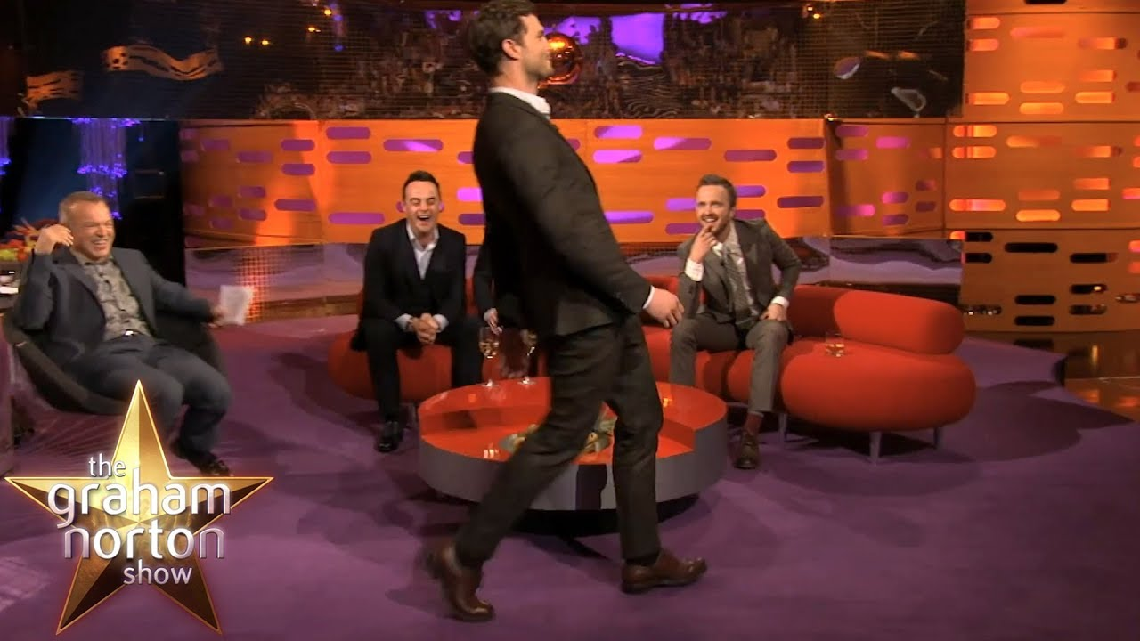 Jamie Dornan's Ridiculous Walk | The Graham Norton Show