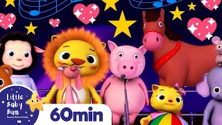 Learn Animal Sounds! More Nursery Rhymes and Kids Songs | Little Baby Bum
