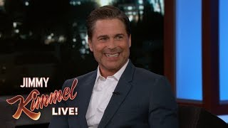 Rob Lowe on One Man Show, Sean Penn & Charlie Sheen