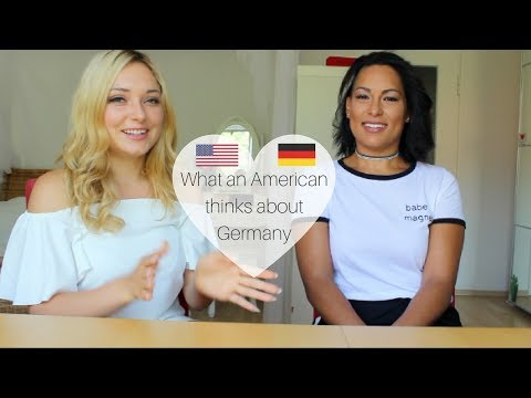 WHAT AMERICANS THINK ABOUT GERMANY