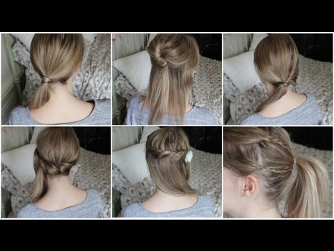Tuto coupe de cheveux mi long