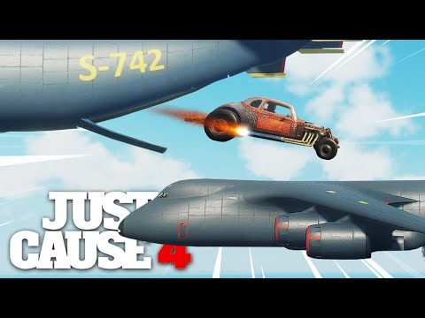 Just Cause 4 - IMPOSSIBLE CARGO PLANE TRANSFER STUNT! |
