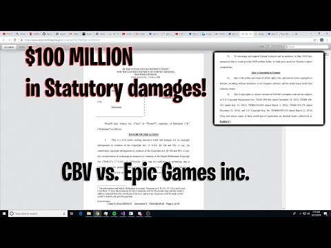 so i'm getting sued by epic games.. [epic games sues ANOTHER 14 year old]