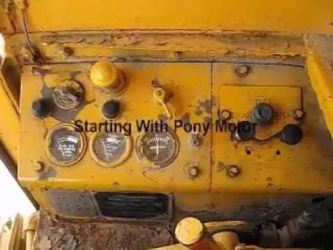 Starting 1950's Caterpillar 112 Motor Grader