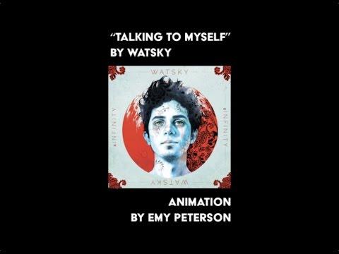 Watsky - Talking To Myself (Lyric Video: First Verse)