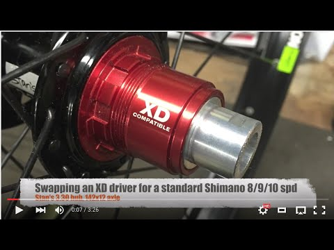 XD Driver Conversion to Shimano 8/9/10 speed