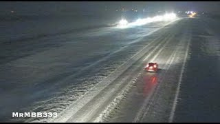 """BLIZZARD - Another """"Ice Age"""" scene this time in the USA - Gridlock and Snow Bound!"""