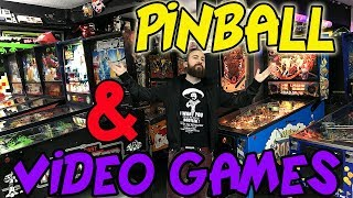 PINBALL BIGGEST COLLECTION ARCADE VIDEO GAMES VIDEOJUEGOS NINTENDO RETRO CONSOLAS MUSEO