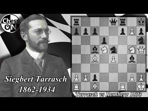 Best Chess Games Ever - Tarrasch vs Romberg 1893