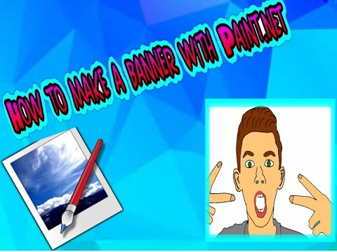 how to make an animated banner in paint.net