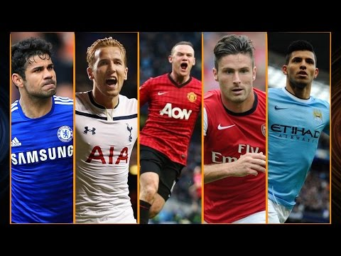 BPL Best Strikers 2015 ● Diego Costa ● Sergio Aguero ● Wayne Rooney ● Olivier Giroud ● Harry Kane