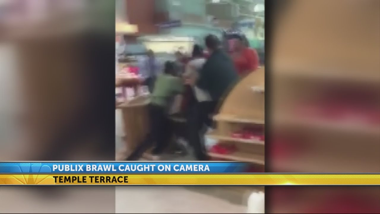 Customer records fight at Publix