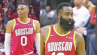 Russell Westbrook & James Harden Share A Special Moment After Passing Each Other On Scoring List!
