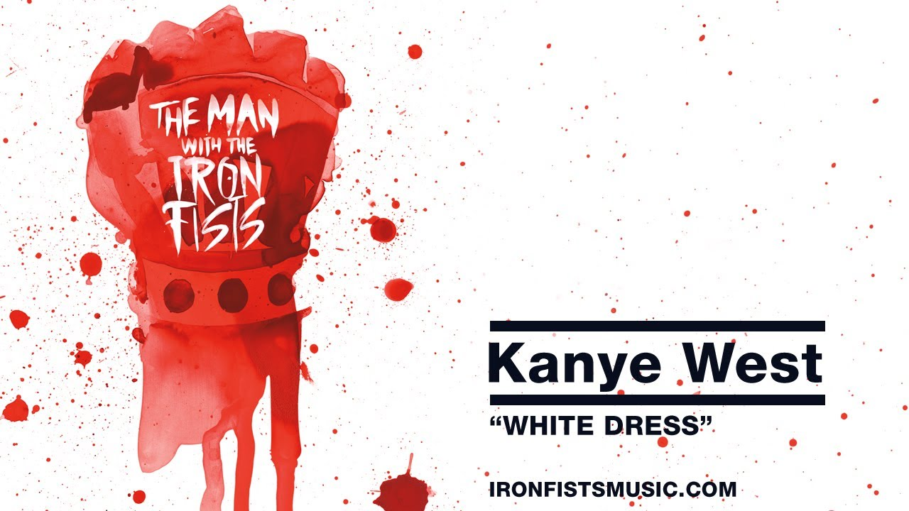 Kanye est white dress music