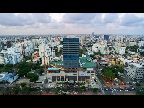 Aerial View of Blue Mall, Acropolis & Hotel Intercontinental.
