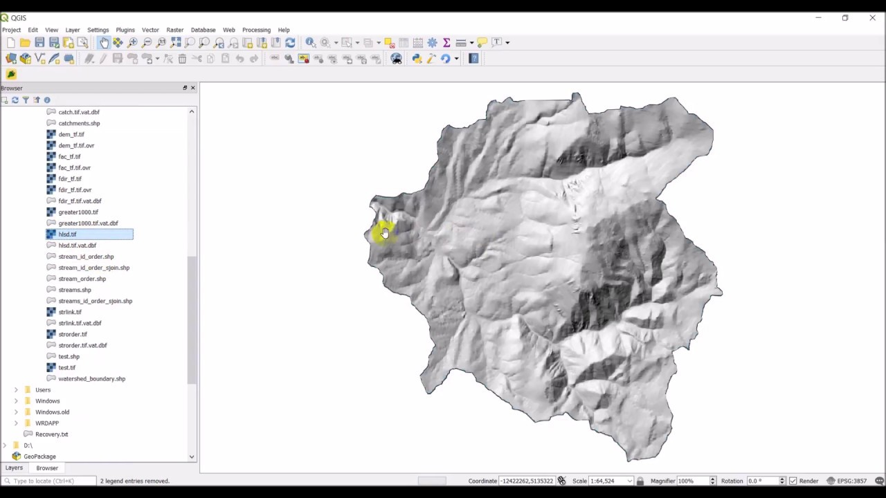 Export map layers from QGIS