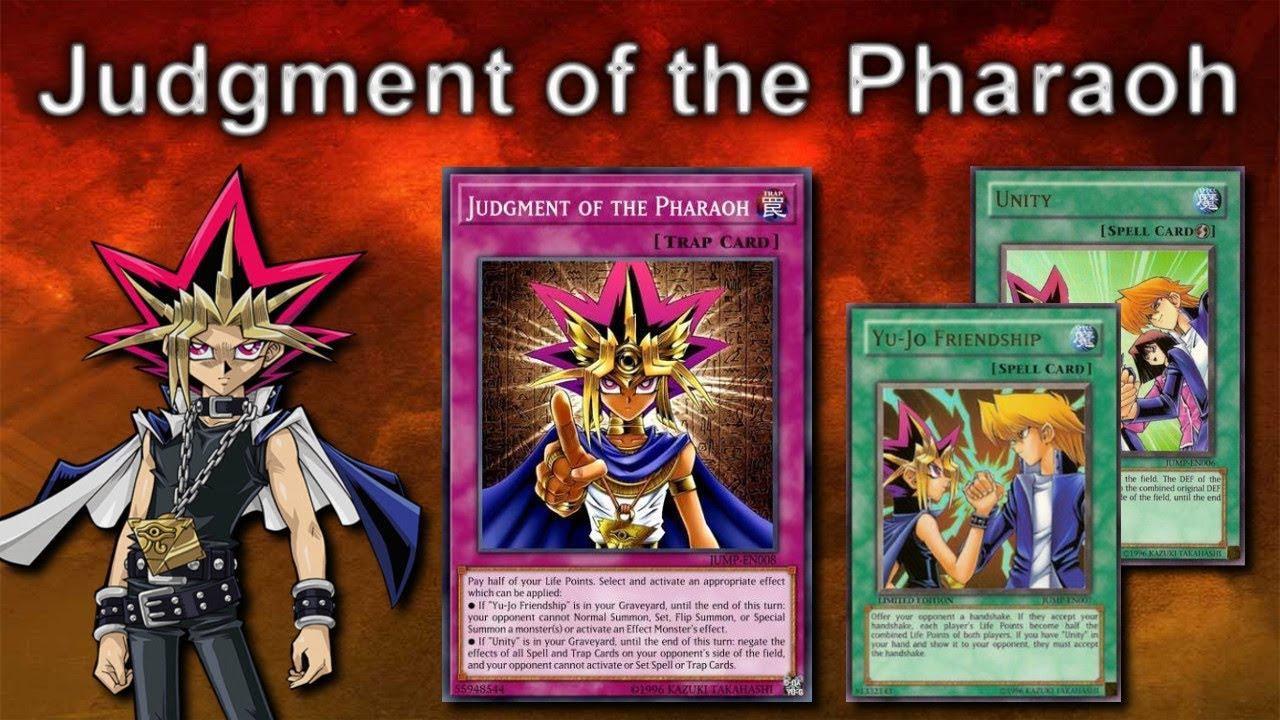 Yu Gi Oh Online Judgment Of The Pharaoh Lockdown 2019