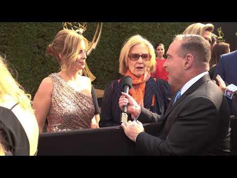 Elizabeth Hubbard and Martha Byrine  ExATWT  45th Annual Daytime Emmy Awards Presenters