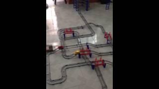 Đồ Chơi Thông Minh - Bộ xe trượt đường ray hiện đại cho bé Part 2