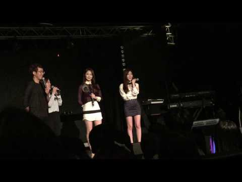 170108 DAVICHI - Talk session at OST & Greatest Hits Live in Singapore