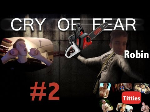 Cry Of Fear Co-op Episode  #2 Killing Chainsaw guy!!!