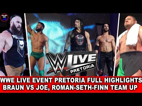 WWE Live Event 20 April 2018 Highlights Results || WWE Live Event PRETORIA 19 April 2018 Highlights