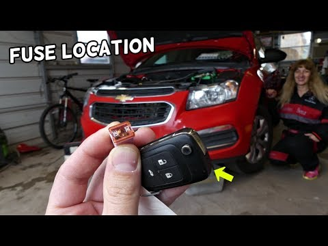 CHEVROLET CRUZE KEYLESS ENTRY PEPS FUSE LOCATION REPLACEMENT. KEYLESS ENTRY NOT WORKING