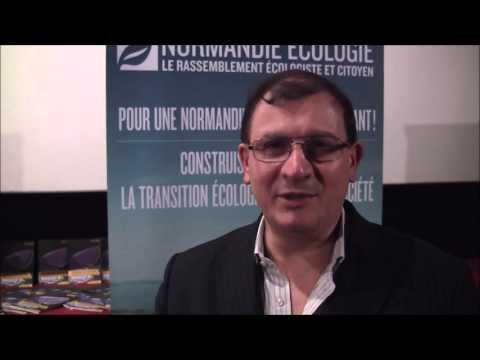 Gilles-Eric Séralini soutient Normandie Ecologie