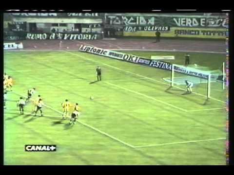 Sporting - 1 Montpelier - 0 de 1996/1997 UEFA