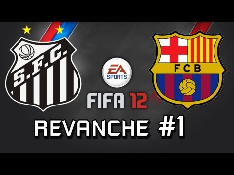 Santos x Barcelona - A Revanche (Rematch) - FIFA 12
