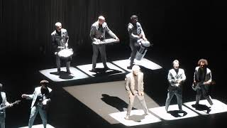 """David Byrne live """"Dancing Together"""" from """"Here Lies Love"""" @ Shrine Auditorium L.A. Aug. 25, 2018"""