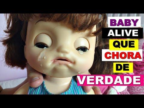 Baby Alive Que Chora De Verdade Dia Das Criancas 3 Baby Alive Doces Lagrimas Livia Sturnik Youtube