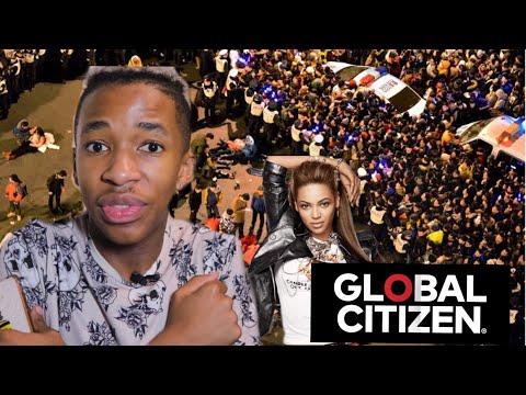 I ALMOST GOT KILLED AT GLOBAL CITIZEN After Beyoncé at The Sasol Garage - Lasizwe ( Storytime)