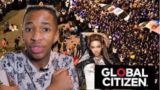 I ALMOST GOT KILLED AT GLOBAL CITIZEN After Beyoncé at The Sasol Garage - Lasizwe ( Storytime)