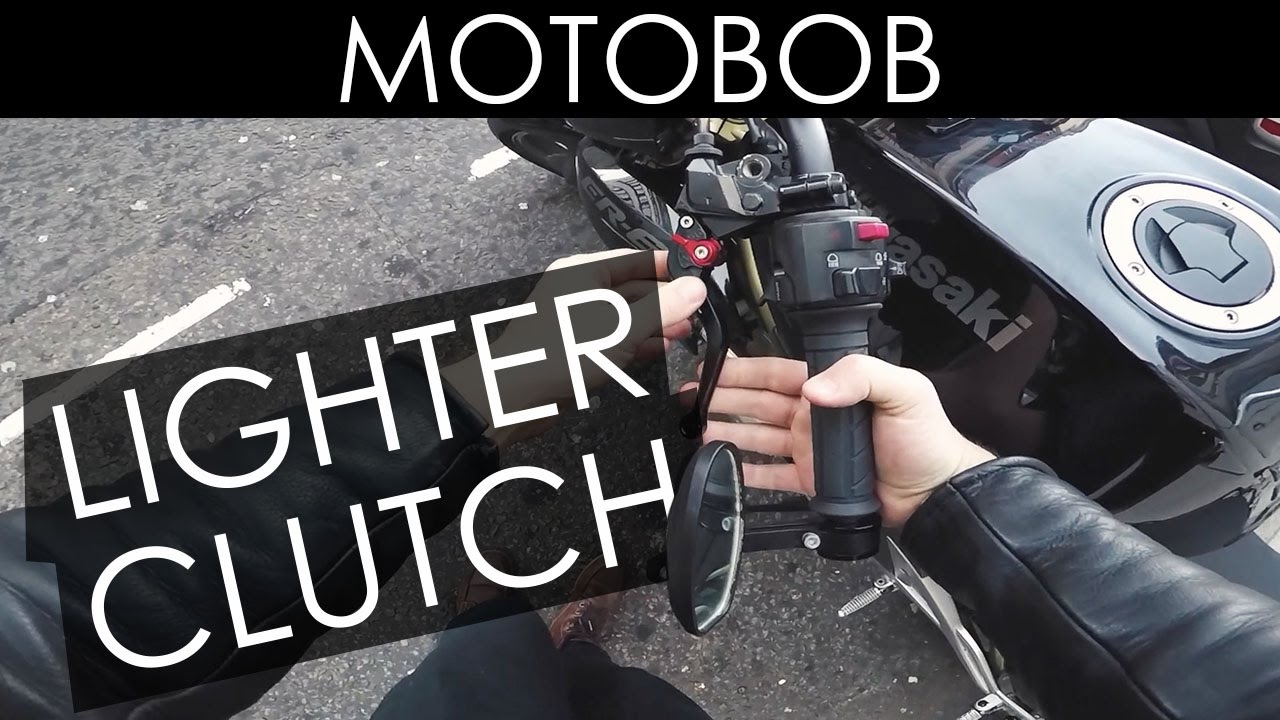 Quick Obvious Tip To Make A Heavy Motorcycle Clutch Lighter